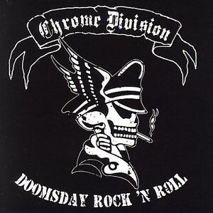 FREE US SHIP. on ANY 3+ CDs! NEW CD Chrome Division: Doomsday Rock N Roll
