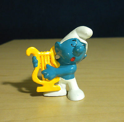 Smurfs Millennium Smurf Year 2000 Rare Y2K Vintage Figure Toy PVC Figurine Peyo