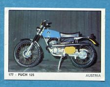 MOTO 2000 - Panini 1972 -Figurina-Sticker n. 177 - PUCH 125 -Rec