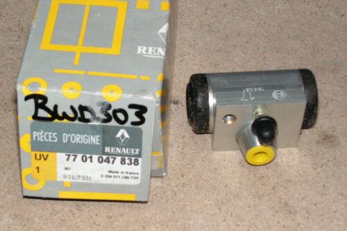 Renault Clio Rear Wheel Cylinder Part Number 7701047838 Genuine Renault Part
