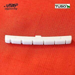 Sillet-Ivory-Graph-Tech-Tusq-PQ-5000-00-Slotted-nut-43mm-Strat-Tele-Vrac-Bulk