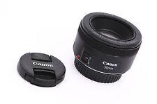 Canon EF STM 50mm f1.8 Fast Prime Lens for EOS Film or Digital SLR Cameras