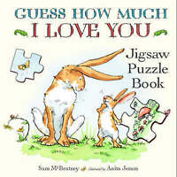 Guess How Much I Love You: Jigsaw Puzzle Book-ExLibrary