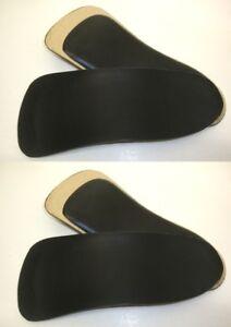 de 44 vierges noirs talon chaussure Inserts 38 42 48 paires de 2 d'embouts Podocontura ZiuPXOk