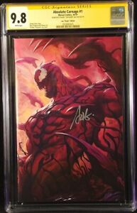ABSOLUTE-CARNAGE-1-CGC-SS-9-8-ARTGERM-1-500-VIRGIN-VARIANT-VENOM-SPIDER-MAN-MJ