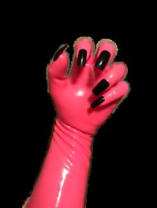 Platex Drag Latex Full Length Long Arm Nail Gloves NEW RRP £100