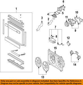 lexus toyota oem 07 17 ls460 engine water pump 1610039506 ebay rh ebay com