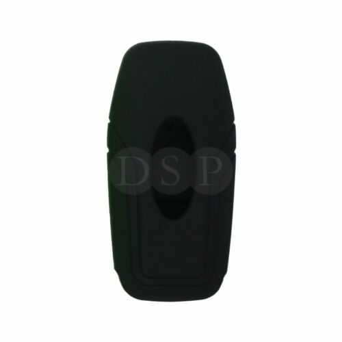 Silicone Cover fit for FORD Mondeo Edge Smart Remote Key 3 BTN Hollowed 9706 BK
