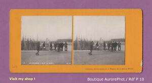 PHOTO-STEREO-VIEW-VUE-STEREO-DUNKERQUE-HOMMES-SUR-LE-PORT-BATEAUX-P10