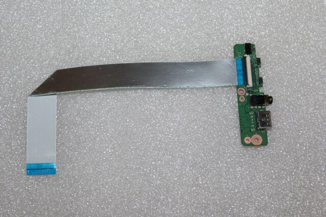 """HP Pavilion 13-a010dx 13.3/"""" OEM USB Audio Button Board 33Y61AB0010 DA0Y61AB6D0"""