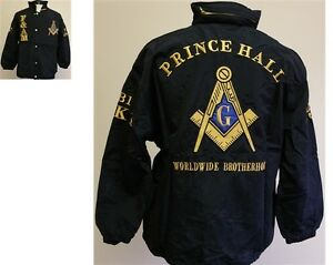 0d97b30ab66b PRINCE HALL F AM FREEMASON JACKET MASONIC ZIP UP ALL WEATHER ...
