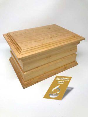 Avere Una Mente Inquisitrice Solid Oak Cremazione Scrigno/urna Per Ceneri Urna/rovere Massello-