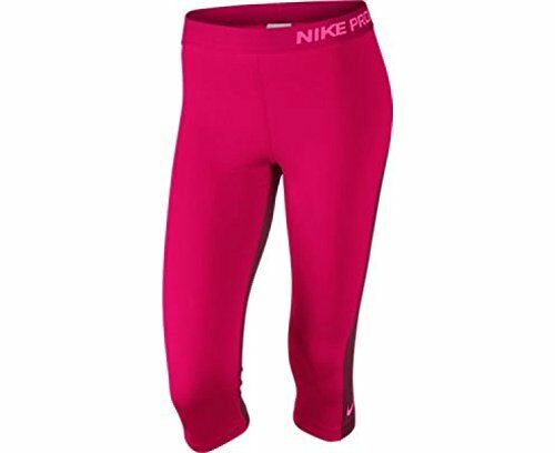 d98c932d NEW TWO TONE FUCHSIA [XS] NIKE PRO Women's Capri Tights Pants DRI-FIT