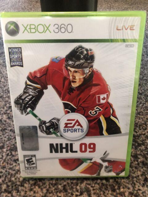 NHL 09 (Xbox 360) Brand New Sealed