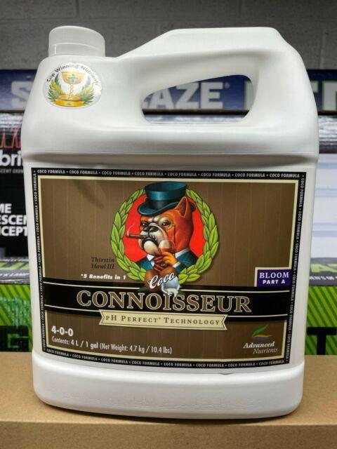 Advanced Nutrients 4-0-0 pH -1 GAL Connoisseur Coco Bloom PART A Plant Nutrient