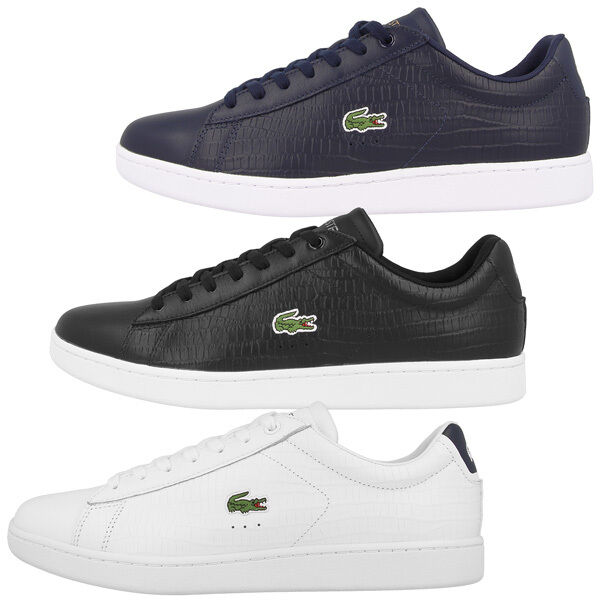 Lacoste Carnaby Evo Leather Trainers Mens Casual Leather shoes Fairlead Europe