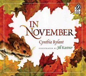In-November-Paperback-by-Rylant-Cynthia-Kastner-Jill-ILT-Brand-New-Fr