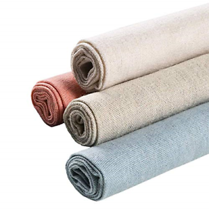 4-Colors-Natural-Linen-Fabric-Solid-Colored-Embroidery-Fabric-Cross-Stitch-Aida