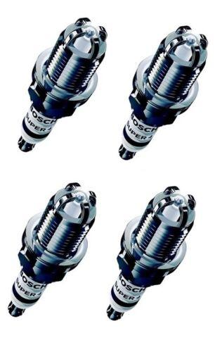 BOSCH Super 4 Performance Upgrade Candele Set di 4 PER TOYOTA YARIS 99-05
