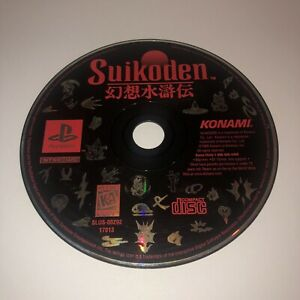 TESTED-Original-Suikoden-Sony-PlayStation-1-PS1-Black-Label-Disc-Only-Iconic-RPG