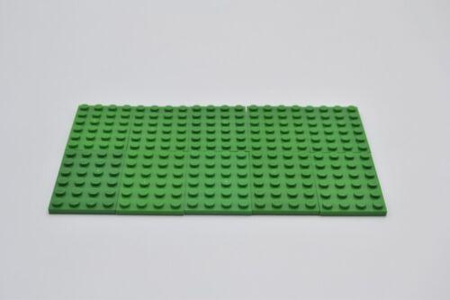 LEGO 10 x Basisplatte grün Green Plate 4x6 3032 4116671