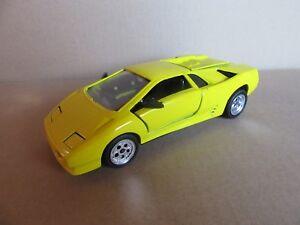 157h Juguete 1 24 Lamborghini Diablo Amarillo Ebay