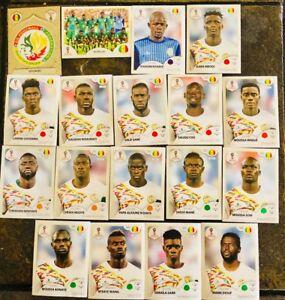 Rusia-Futbol-Copa-Mundial-FIFA-Panini-2018-Pegatinas-Senegal-Team-Stickers