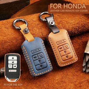 Zinc Alloy Key Case Cover Holder For Honda Accord CR-V Civic Keyless Remote Fob