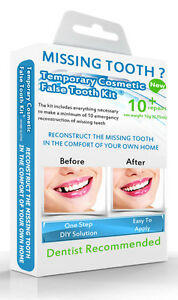 Image Is Loading False Teeth Temporary Missing Tooth Replacement Diy Kit