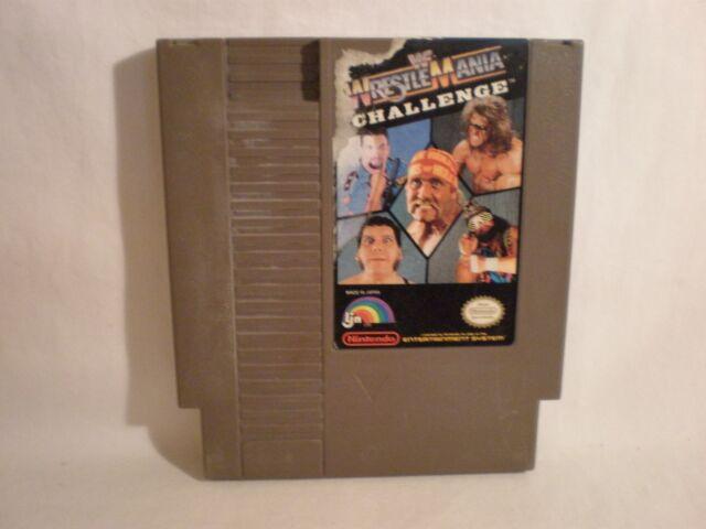 WWF WrestleMania Challenge (Nintendo Entertainment System, 1990) game only