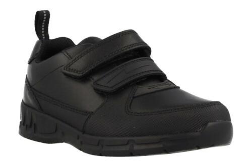 CLARKS MARIS FIRE INFANT Boys Kids School Shoes Leather UK 10-10,5-11,5 RRP 42