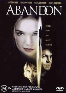 Abandon-DVD-2003-Region-4-Katie-Holmes-Benjamin-Bratt