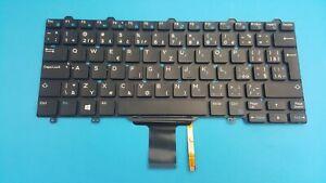 Keyboard-Czech-Dell-Latitude-e5250-e5270-e7250-e7270-0j976y-illuminato