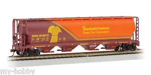 Bachmann Trains Alberta//Edmonton 4 Bay Cylindrical Grain Hopper