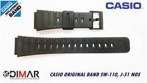 Replacement Casio Original Band SW-110,J-51,S-50W NOS