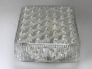70er-Jahre-Lampe-Leuchte-Plafoniere-Bleikristall-Deckenleuchte-Space-Age-Design