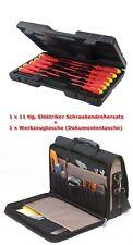 Elektriker Satz Werkzeugtasche ToolPack 360.042 + 918535 11 tlg. Schraubendreher