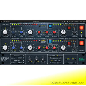 Details about Waves BSS DPR-402 Compressor/Limiter/De-esser Audio Software  Plug-in NEW