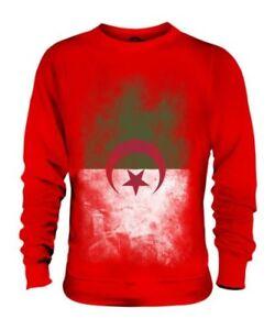 Algeria Unisex Al Ir Sbiadito Maglione Camicia Dzayer Bandiera Algerino jaz' YrOEwqrnB