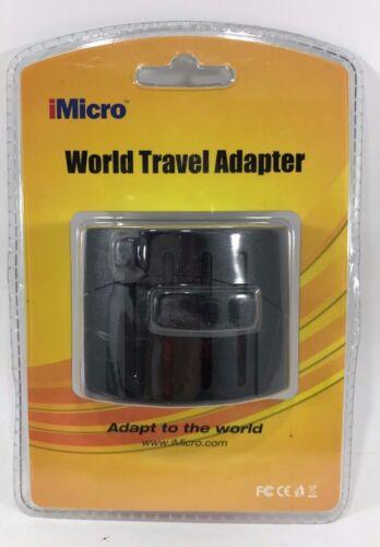 Universal World Travel Wall Plug Adapter International iMicro PS-ADP102