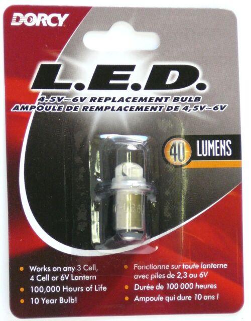 Dorcy 41-1643 30 lm DEL 3 V Remplacement Ampoule