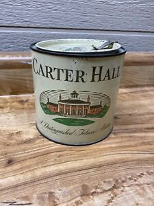 VINTAGE-Pipe-Carter-Hall-Smoking-Tobacco-Mixture-Can-Tin