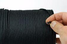 Corda di Poliestere Nero Intrecciato Nylon Corda resistente poliestere extra forte 4 mm