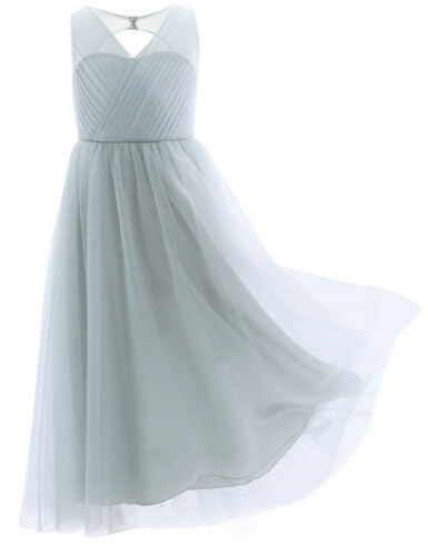 Flower Girl Princess Dress Kid Communion Gown Party Wedding Pageant Long Dresses