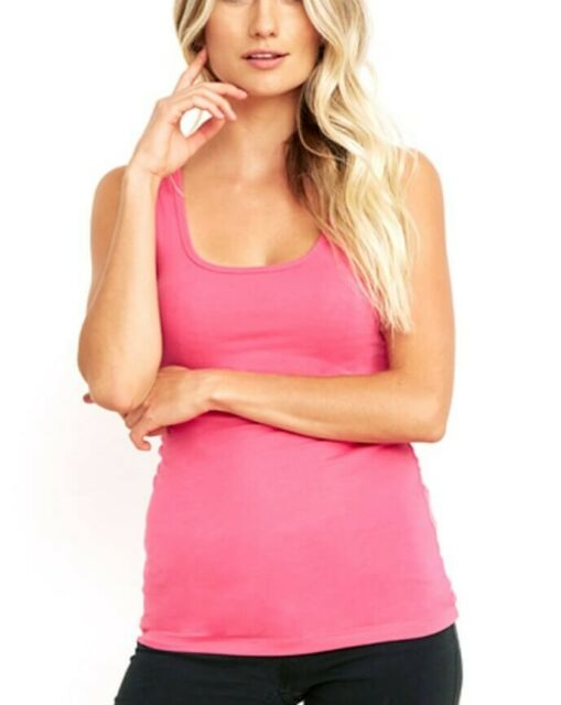 NEXT LEVEL The Jersey Tank Neon Heather Pink 3533