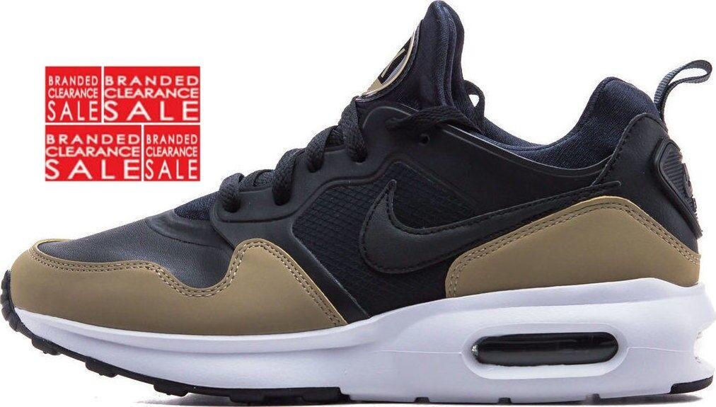 Entièrement neuf dans sa boîte Nouveau Hommes Nike Air Max Premier SL noir kaki 7 8 9 UK