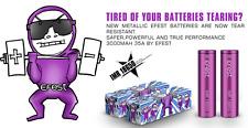2 x 100% Genuine Efest IMR 18650  HIGH DRAIN 3.7v 3000mAh 35A  Vape Battery //