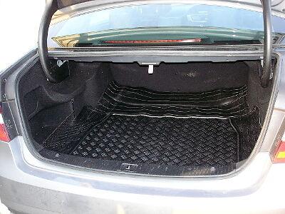 Mercedes Classe E W212 Berline coffre en caoutchouc mat liner et protection pare-chocs