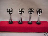 Pt Cruiser Maltese Cross Door Pins -set/4 Three Colors