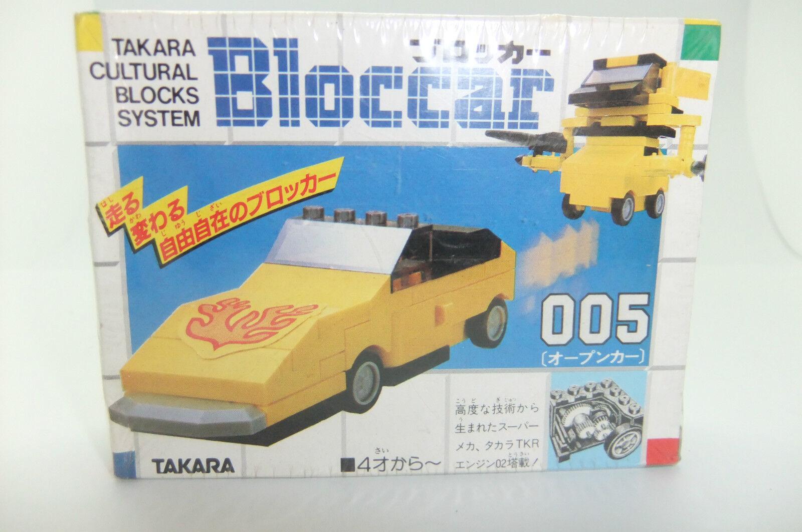 1980 TRANSFORMERS TAKARA BLOCCAR 005 MISB LEGO STIL